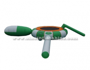 kids N adults inflatable water trampoline with springs
