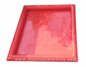 red rectangle kids N adults big inflatable water pool