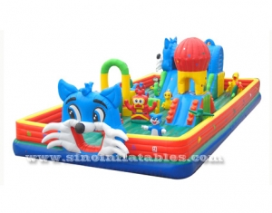 Indoor toddler inflatable fun land