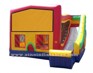 kids fun inflatable jumping castle with slide