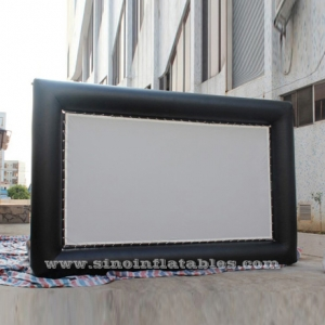 giant advertising inflatable movie screen