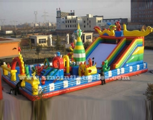 kids giant inflatable amusement park