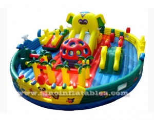 giant kid inflatable amusement park