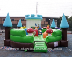 Indoor kids giant inflatable playground