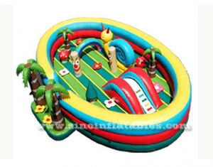 indoor kids jungle inflatable amusement park