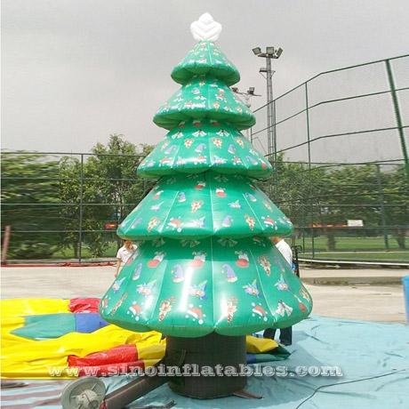 Christmas Tree Inflatables.5m High Big Advertising Inflatable Christmas Tree Digitally
