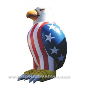 giant patriotic inflatable eagle
