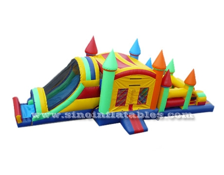commercial grade kids inflatable combo game obstacle course