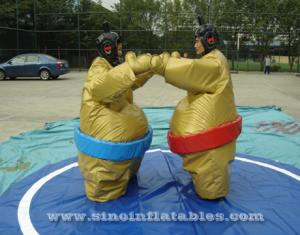 kids N adults inflatable sumo wrestling suits