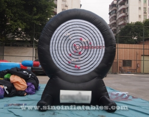 sticky inflatable dart game