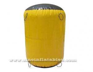 cylinder inflatable paintball bunker