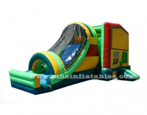 kids module inflatable bounce house with slide