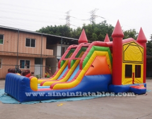 kids module inflatable combo game