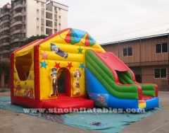 safari park inflatable jumping castle