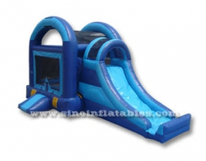 kids inflatable bouncy castle with slide