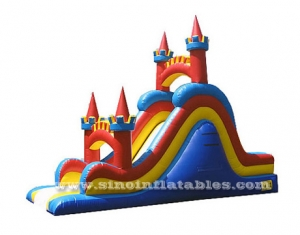 Lead free certified kids inflatable slide