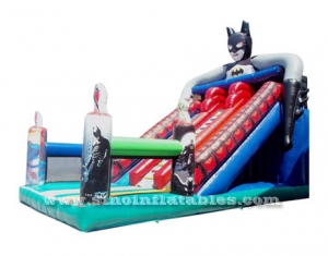 Super Hero Batman kids inflatable slide