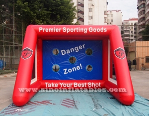 Kids N adults inflatable football target