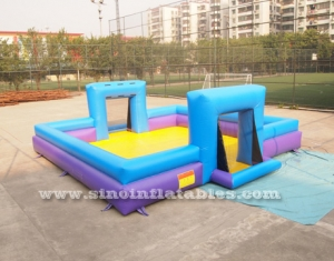 kids N adults inflatable soap soccer field