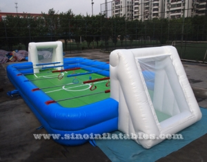 human inflatable football arena court