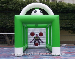 inflatable soccer goal tent