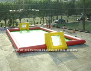 Adults N children giant inflatable football field