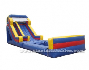 kids inflatable water slide with detachable pool