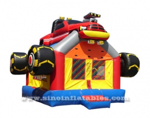 kids monster car inflatable bounce house