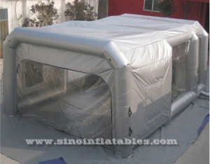 giant inflatable car spray tent