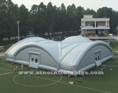 trade show giant inflatable conjoin dome tent