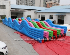 adults 5k inflatable hills obstacle course