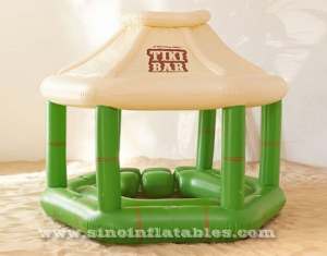 swimming pool inflatable floating tike bar