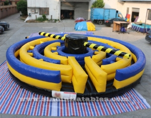 adults duck N run inflatable meltdown game