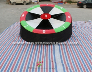 kids N adults inflatable golf target