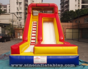 single lane kids inflatable slide