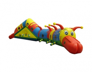children centipede inflatable tunnel