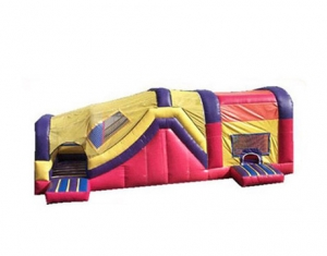 kids tunnel inflatable bounce house
