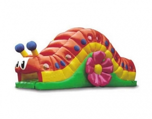 kids outdoor snail inflatable tunnel