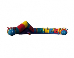 kids inflatable caterpillar tunnel