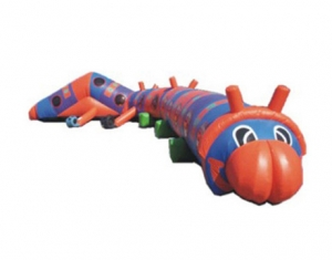 crawl worm inflatable tunnel