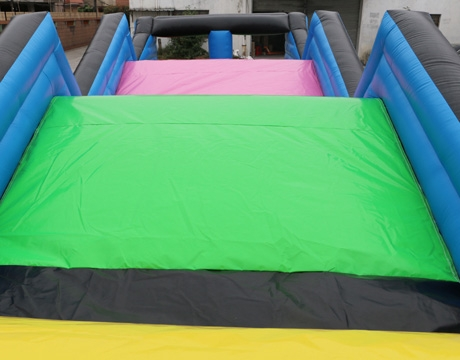 long rising tide adult inflatable obstacle course