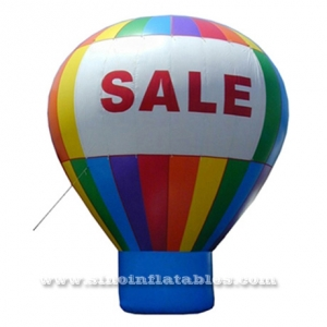 big SALE advertising inflatable balloon