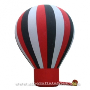 big standing colorful cold air inflatable balloon