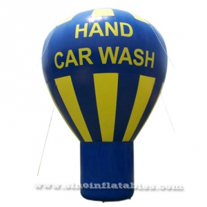 hand car wash advertising inflatable promotion balloon