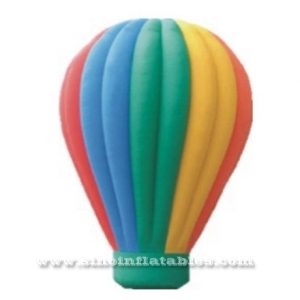 rainbow inflatable advertising balloon