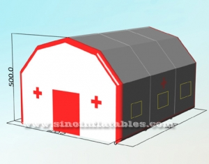 portable inflatable hospital medical tent