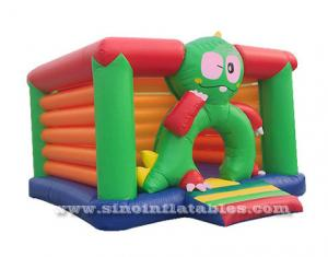 kids frog inflatable bouncy castle