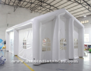 big white air sealed inflatable wedding party tent