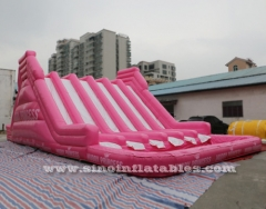 giant adult inflatable obstacle course with big pool