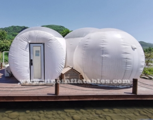 clear top resort inflatable bubble lodge hotel